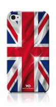 WHITE DIAMOND Coque Drapeau UK pour iPhone 4/4S