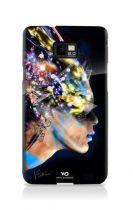 WHITE DIAMOND Coque rigide Noir pour Samsung Galaxy SII