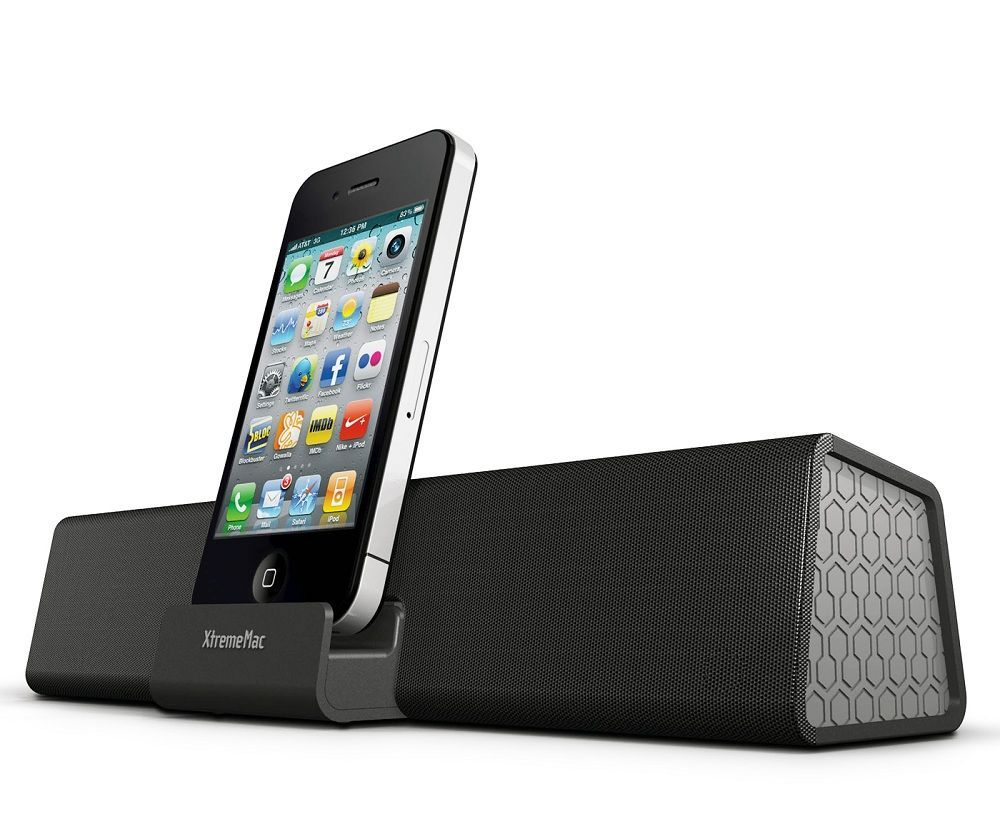 XtremeMac Soma Travel Enceinte nomade iPhone/iPod/iPad