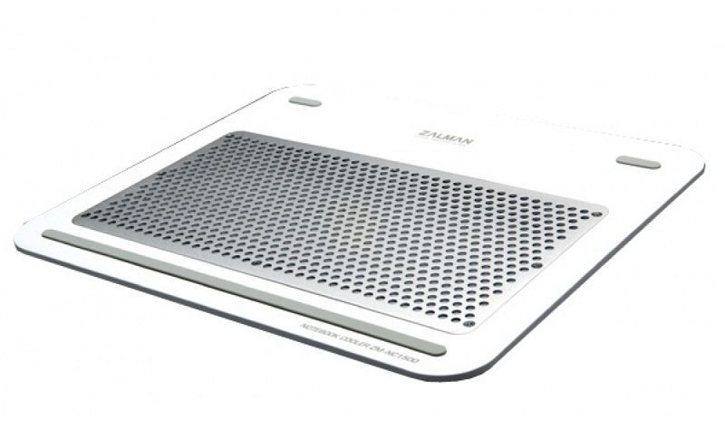 Zalman - ZMNC1500W White Support ventilé pour PC portable