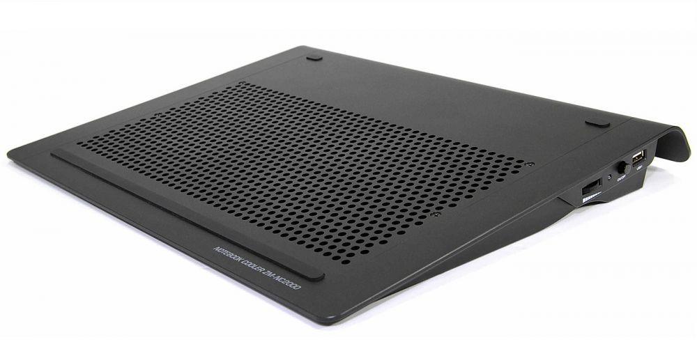 Zalman - ZMNC2000B Black Support ventilé pour PC portable