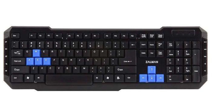 Zalman ZM-K200M Clavier PC Gamer